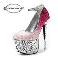 2013 Fashion Thick Platform Ultra High Heels Single Shoes 40 Women S Shoes High Heels