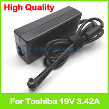 65w ac adapter 19V 3.42A for Toshiba laptop charger Satellit