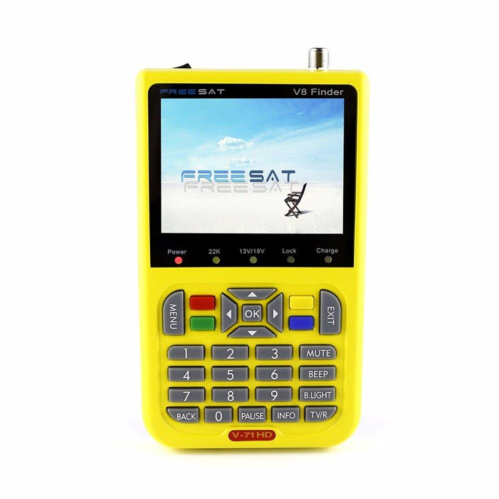 Freesat V8 Finder digital satellite Finder HD DVB-S2 High Definition 3.5 LCD Satellite Finder MPEG-2 MPEG-4 Freesat original satlink ws6916 satellite finder dvb s2 mpeg 2 mpeg 4 ws 6916 high definition satellite meter tft lcd screen 3 5 inch
