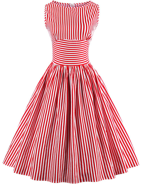 Red Boat Neck Party Dresses for Juniors
