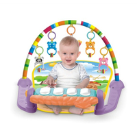 Baby Fitness Rack Pedal Infants Newborn Game Mat Pad Play Mats Toddler Educational Toys Gym Pad Toys For Children Gifts