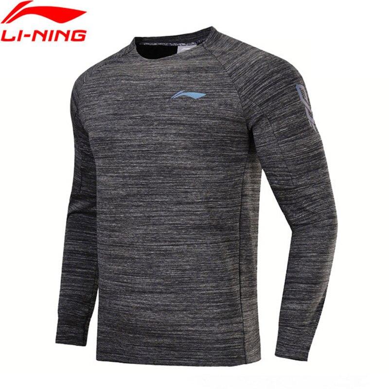Li-Ning New 2018 Men Basketball Series Sweater 100% Cotton Comfort Regular Fit Li Ning Sports Exercise Coat AWDN025 maternal benefits of regular exercise
