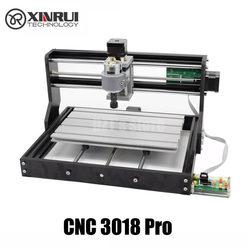 CNC 3018 Pro GRBL contrôle Bricolage mini cnc machine, 3 Axes fraiseuse pcb, routeur en bois de gravure laser, avec contrôleur hors ligne