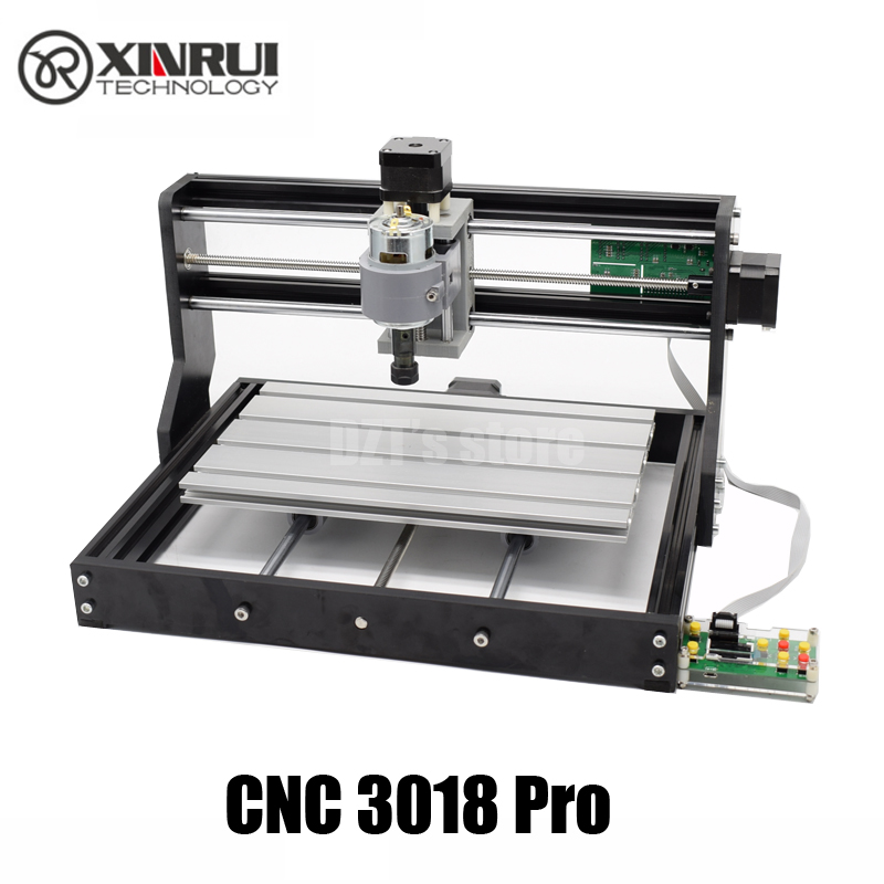CNC 3018 Pro GRBL control Diy mini cnc machine,3 Axis pcb Milling machine,Wood Router laser engraving,with offline controller disassembled pack mini cnc 3018 pro 500mw laser cnc engraving wood carving machine mini cnc router with grbl control l10010
