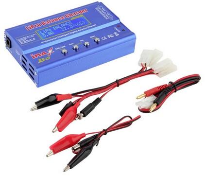 IMAX B6 цифровой RC Lipo NiMh батарея баланс зарядное устройство+ AC мощность 12 в 5A адаптер Прямая поставка - Цвет: B6 Tamiya plug