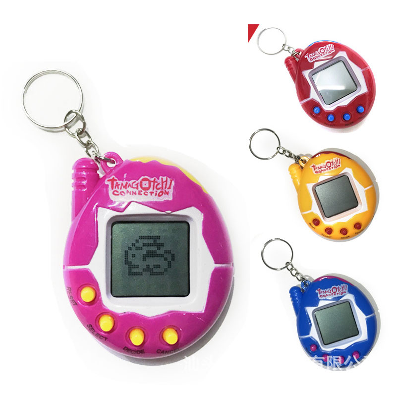 Electronic Pets Toys 90S Nostalgic 49 Pets In One Virtual Cyber Pet Toy Funny Tamagochi Electronic Pets Keychains Toys For Child