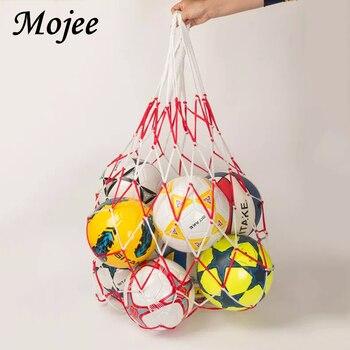 1 Piece Portable Polypropylene Football Net Holder Capacity 10 Balls Soccer Football Net Training Outdoor Sporting Volleyball
