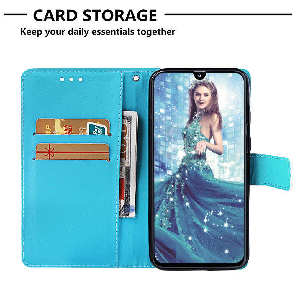 A40 Panda Silikon Abdeckungen Für cellular Samsung A40 Carcaso Coque Positivo sFor Samsung Galaxy telefoon A40 Brieftasche Flip Fall