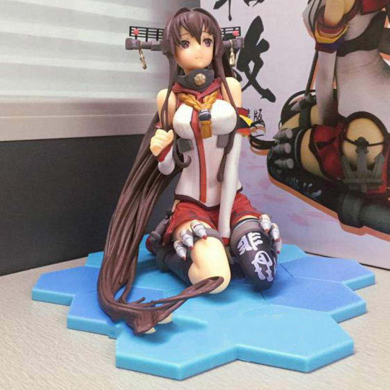 with umbrella Yamato Kantai Collection Soldiers Pvc Action Figure Model Toys Japanese Anime Figures Action & Toy Figures цена