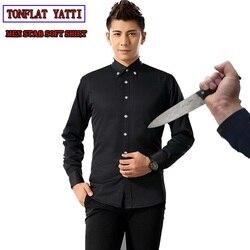 Auto defensa táctico SWAT equipo de Policía Anti corte cuchillo resistente camisa Anti puñalada manga larga militar seguridad Clothin