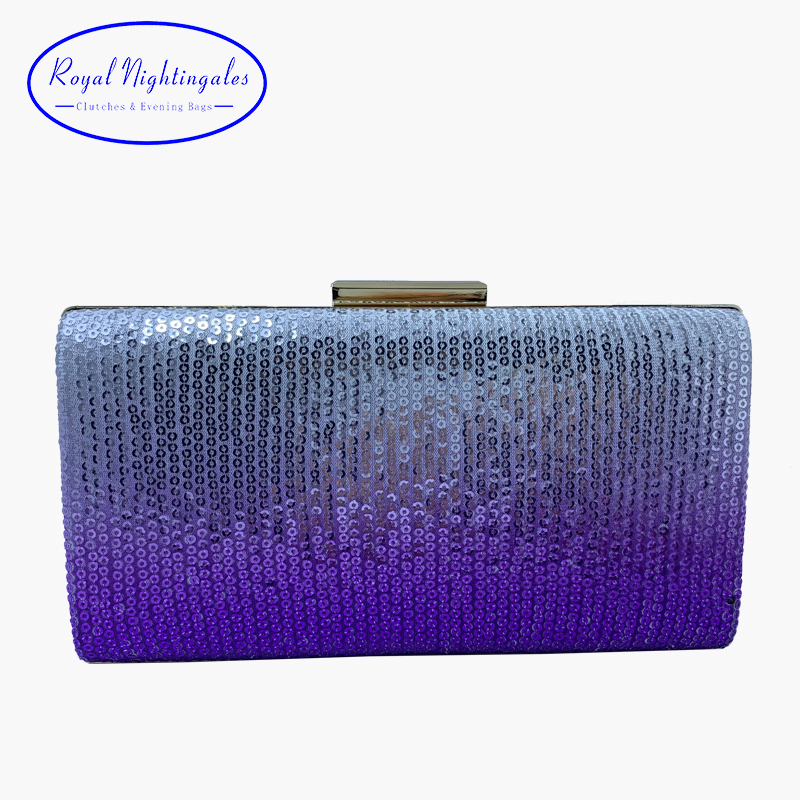 Silver Gold Metallic Hardcase Clutch Bag Wedding Prom Party Evening New