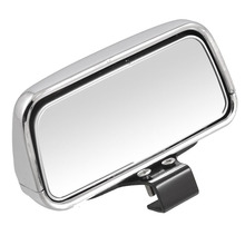 AUTO -Vehical Silver&black Adjustable Angle Car Blind Spot Mirror