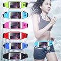 5.5 pulgadas Universal A Prueba de agua Caja Del Teléfono de Bolsillo de La Cintura Para iPhone7 6 S más caso correr deporte cubierta de la bolsa para samsung s6 s7 4.7 pulgadas