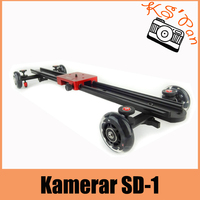 Kamerar SD 1 слайдер Dolly Kamerar камера глайдтрек автомобиля f. DSLR RIG камера слайдер Долли для съемки кино Бесплатная доставка