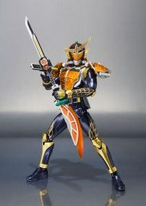Image 4 - Original BANDAI SPIRITS S.H. Figuarts / SHF Action FIGURE Kamen Rider GAIM เกราะสีส้ม 20 Kamen Rider เตะ Ver.