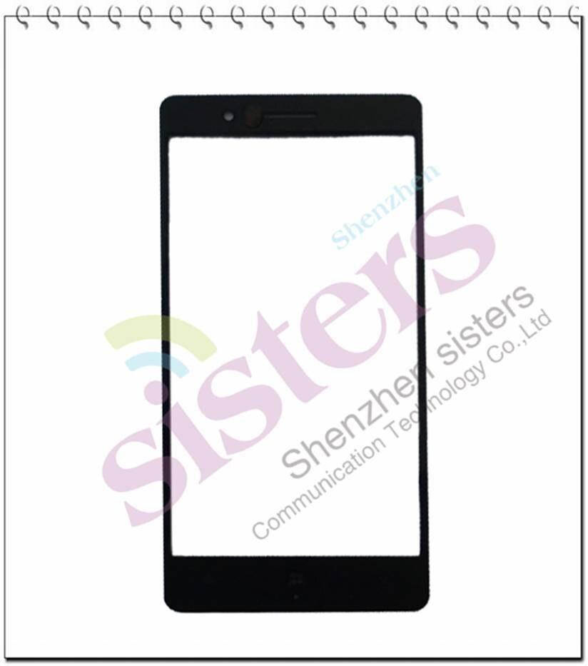 50 piezas de alta calidad nuevo venta al por mayor negro lente de cristal exterior reemplazo para Nokia N830 RM-984, envío gratis con número de seguimiento