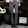 2016 Casamento Formal Terno Dos Homens Calças Moda Casual Slim Fit Marca Vestido de Negócios Blazer Reta Calças FNM1003