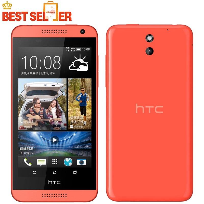 """Цена за Оригинальный htc desire 610 кач ядро мобильного телефона 4.7 """"1 ГБ RAM 8 ГБ ROM GPS Wifi Разблокирована 3 Г 4 Г Android Белый/Синий/Черный на складе!"""