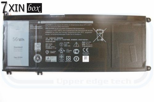 ФОТО 7XINbox 3500MAH 5.2V 56wh NEW laptop Battery For DELL 33YDH FOR DELL  Inspiron 7778