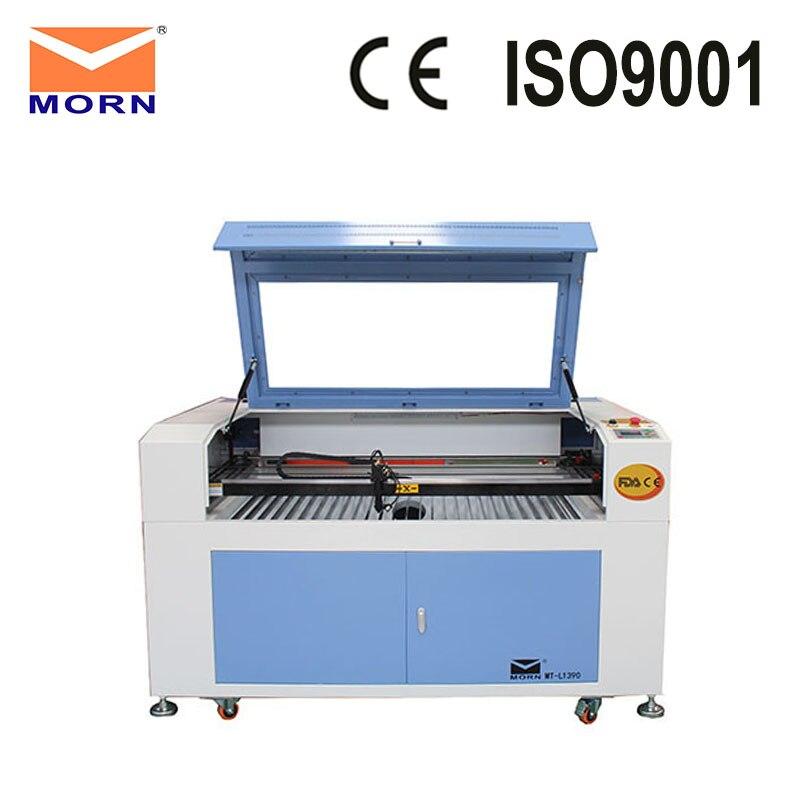 Cheap CNC Machine CO2 Laser Engraving Lazer Printer Machine MT-L1390 + CW5000 Water Chiller