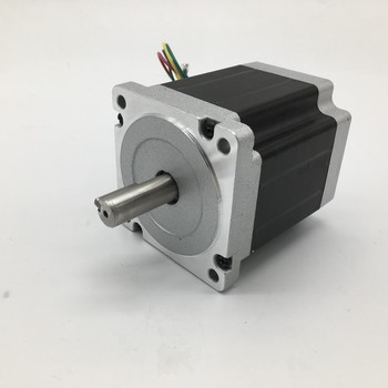 Stepper Motor Nema34 86*98mm 6A 6.5Nm 930Oz-in 2ph 4 Wires High Torque for CNC Router Lathe