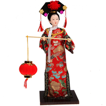 Beautiful Chinese Style Art hand made craft for home decoration 12 Ancient chinese Princess with beautiful clothes christina croft most beautiful princess