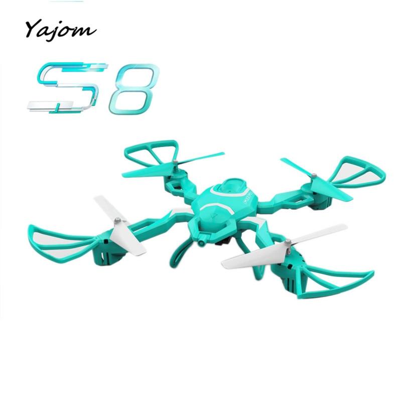 ФОТО 2017 Hot Sale HOT 2.4G 4CH Altitude Hold HD Camera WIFI FPV RC Quadcopter Drone Selfie Foldable Brand New High Quality Feb 24