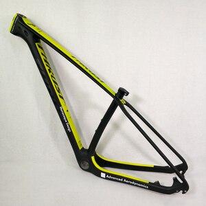 Image 3 - THRUST 탄소 프레임 29er 15 17 19 탄소 mtb 프레임 29 er BSA BB30 자전거 자전거 프레임 최대로드 250kg 2 년 보증 12 색
