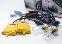 Szybki Start Żarówki Xenon HID Conversion Kit Car Reflektorów H1 H3 H7 9005 HB3 9006 HB4 H4 H11 6000 K 4300 K 8000 K 55 W Balastu 12 V