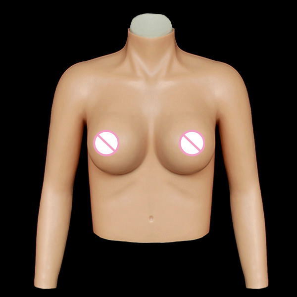ST-6  top quality realistic silicone breast forms easy curves bust enhancer artificial breasts crossdresser Free shipping st 3 e cup top quality realistic silicone breast forms crossdresser silicone breast for men artificial breast enhancer