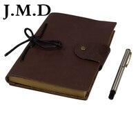 Producent j.m.d 2017 new vintage leather notebook skóry skóra pamiętnik 8081