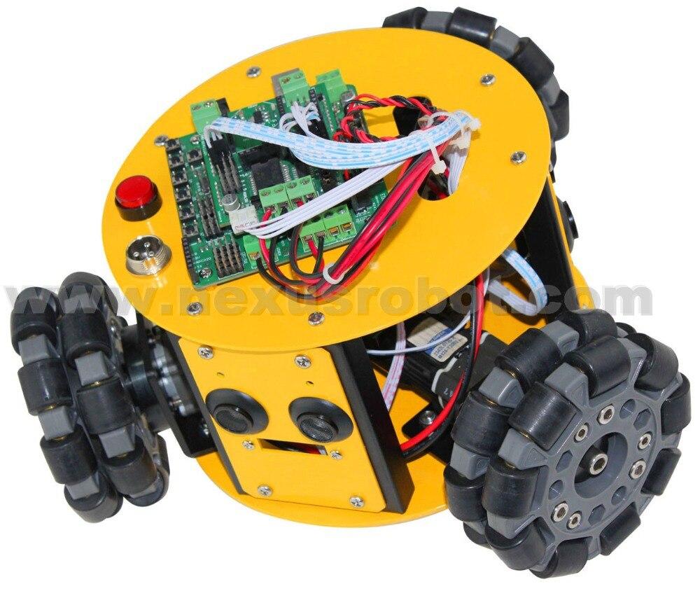 3WD 100mm Omni Wheels Arduino Kit - Escuela y materiales educativos - foto 4