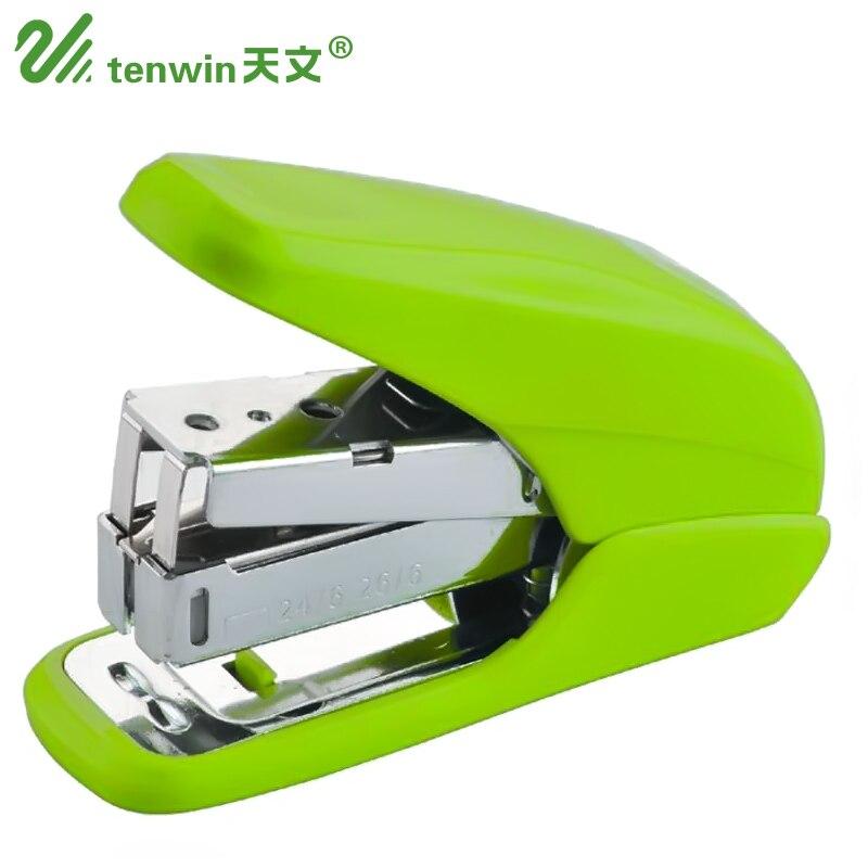 Tenwin Mini Labor Saving Stapler Small Fashion Stapler