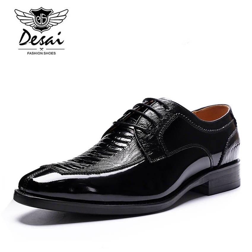 Mano Patrón Vestido Serpiente Encargo Hecho Full De Black A La Hombres Boda Desai Negocios Formales Grain Nuevo Cuero Zapatos 4O8v8q