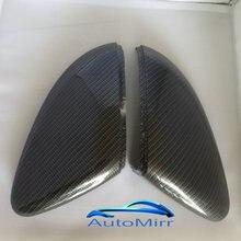 Kibowear for VW Golf MK7 GTI 7 R line Side Mirror Covers Caps MK6 6 (Carbon Effect) MKVII Scirocco Passat B7