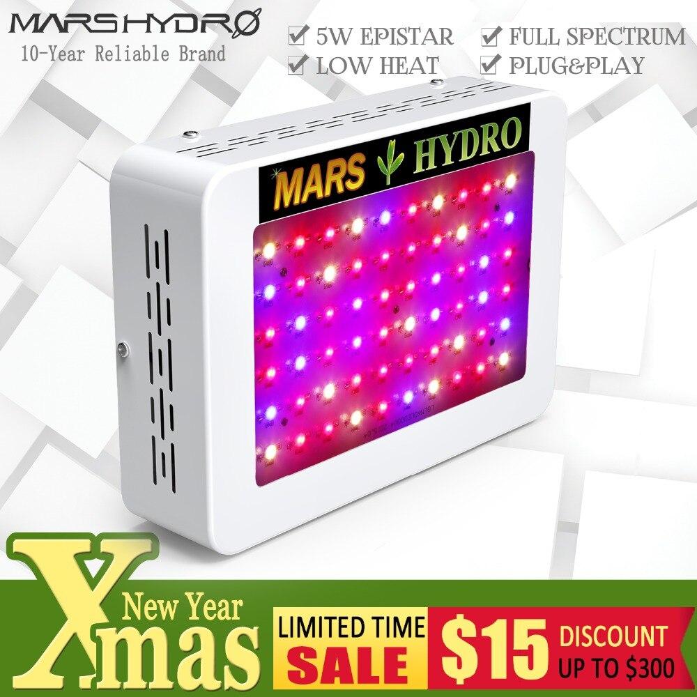 Mars Hydro Mars 300/Mars 600 LED Élèvent La Lumière Idéal pour Débutant Plein Spectre pour Hydroponique Plantation Hors Taxes