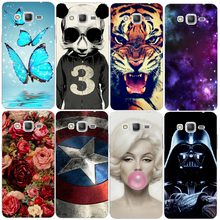 Mobile Phone Case New Retail 1pc panada Star Wars Protective White Hard Case For Samsung Galaxy
