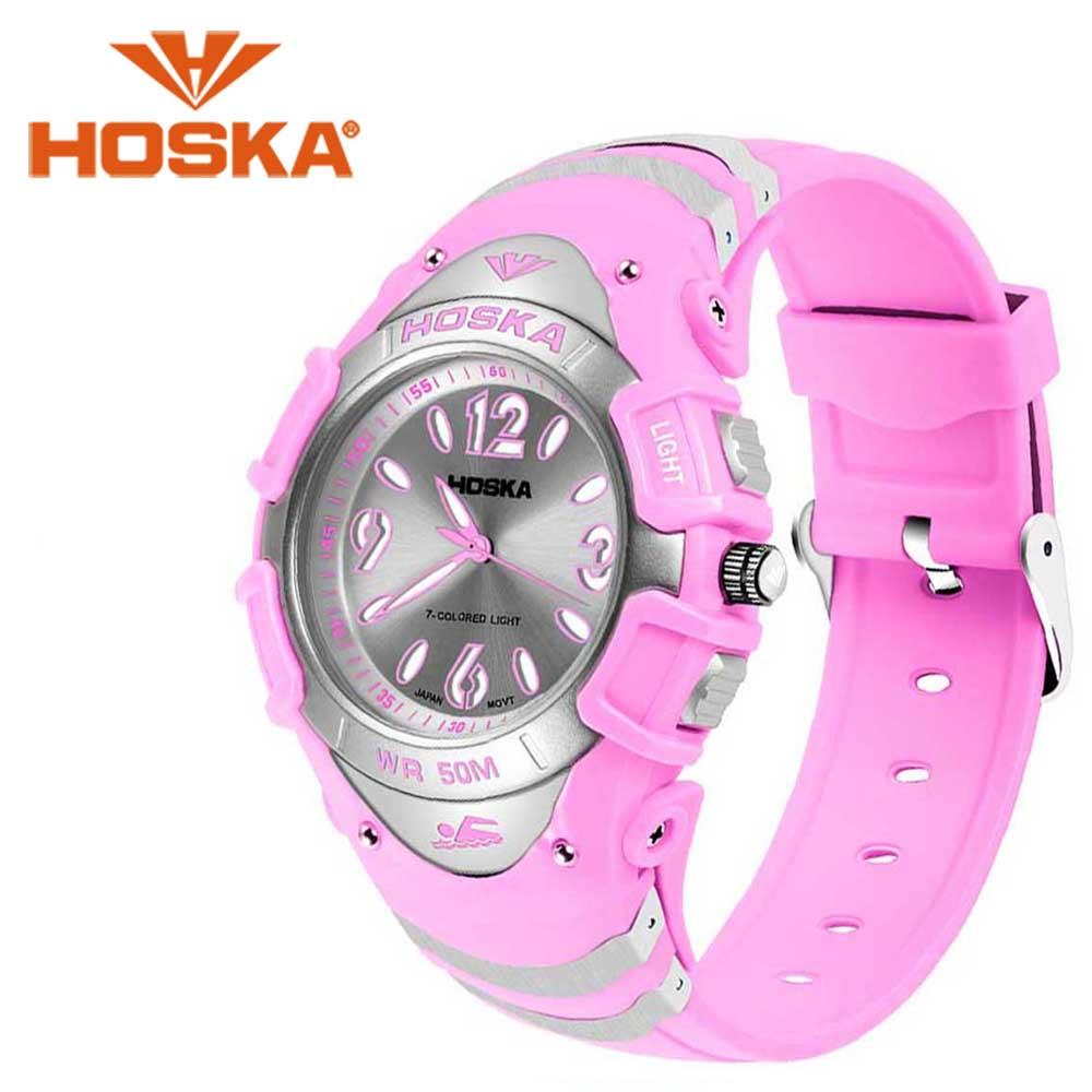 Brand HOSKA student women's watches Quartz watch girls women sport outdoor waterproof  montre femme Quartz-watch hoska hd030b children quartz digital watch