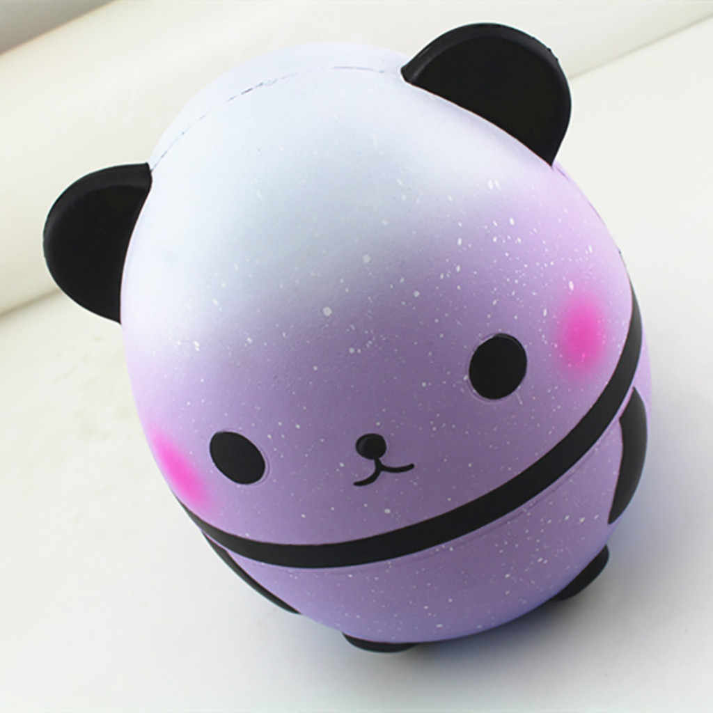 Jumbo Licin Cute Licin Panda Wangi Licin Lambat Rising Mainan Anak Boneka Hadiah Menyenangkan Stres Relief Mainan Mochi Squishies 2019