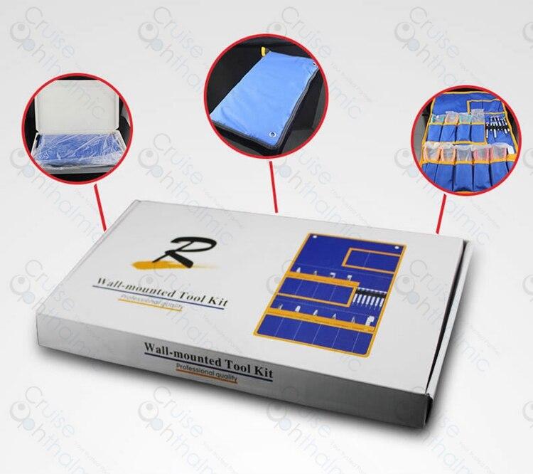 ST 961 Optical Repair Tools Eyeglasses Tool Set Kit 7pcs Screwdrivers 9 Pliers 1PD Ruler