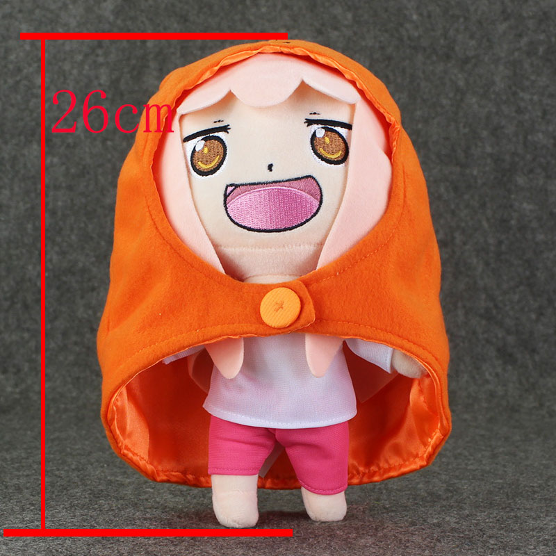 1pcs Anime Small buried Sankaku Head Himouto! Umaru-chan Umaru Doma Soft Plush Doll toy japan anime himouto umaru chan wallet doma umaru cosplay coin card women men bifold purse