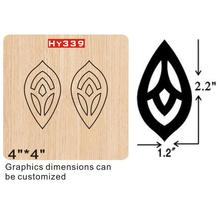 Hand earrings  cutting dies 2019 die cut & wooden Suitable for common machines on the marke