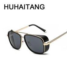 Steampunk gafas de Sol de Aviador Hombres gafas de Sol Oculos Gafas de Sol Gafas de Sol Masculino Gafas de Sol Gafas Lentes Hombre