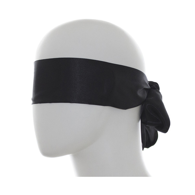Roleplay Blindfold Adult Games BDSM Bondage Erotic Sex Toys, Black Shield Light Sleeping Eye Mask Restraint Sex Accessories