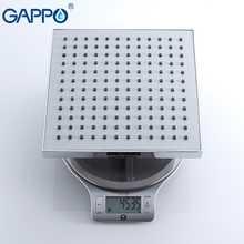 GAPPO bathroom shower system  set bath shower tap wall mounted faucet mixer wall shower set Waterfall ABS Panel Massage GA2401