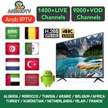 IPTV Arabo Francia Marocco Turchia IP TV Francese Full HD Paesi Bassi Algeria IPTV Abbonamento per Android trasporto di prova IPTV Belgio
