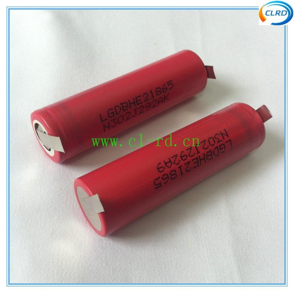 Baterias Recarregáveis airmodel Modelo Número : Lghe2