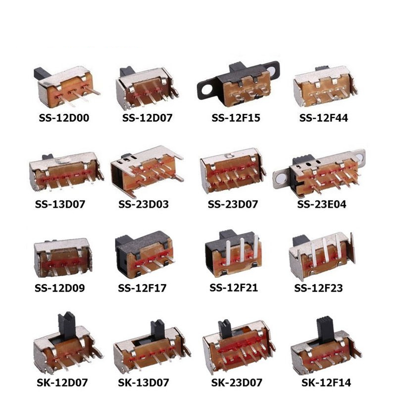 Switches Cheap Price 50pcs/lot Toggle Switches Small Micro Power Switch Ss-12d00 Ss-12d07 Ss-12f15 Ss-12f44 Ss-13d07 Ss-23d07 Ss-12f17 Ss-12f23 Buy Now
