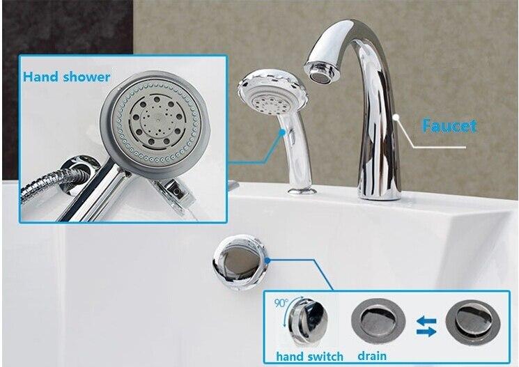 Home-use-2-people-freestanding-indoor-whirlpool