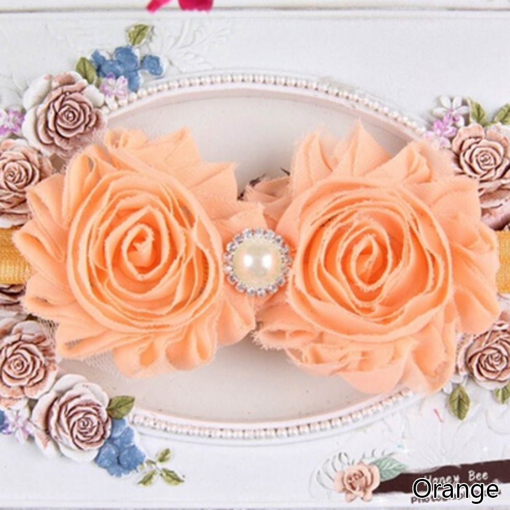2016 Newborn Stain Rose Lace Flower Hair Accessories Headwear Baby Headband <b>Infant</b> Children Baby Hair Decoration - China Cheap Products